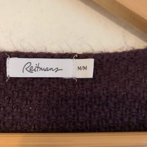 Reitmans Sweaters - Lengthy Plum Sweater